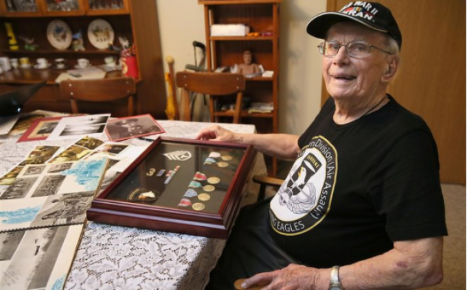 WWII Vet to receive Sijan Award