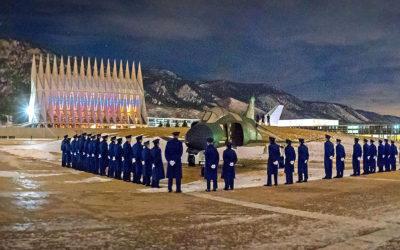 Taps Ceremony - Panorama