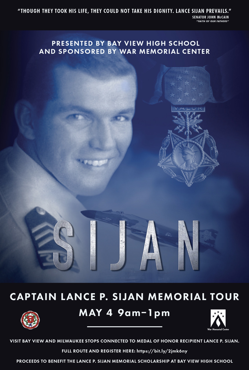 May 4, 9 am-11:30 pm: Captain Lance P. Sijan Memorial Tour
